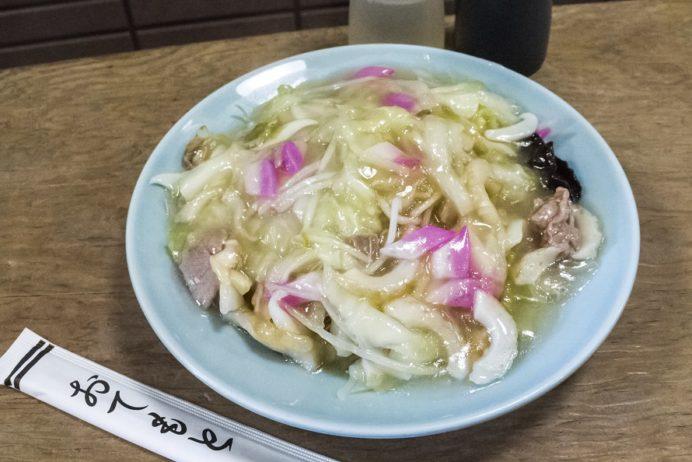 中華料理 永楽苑(長崎市江戸町)の皿うどん