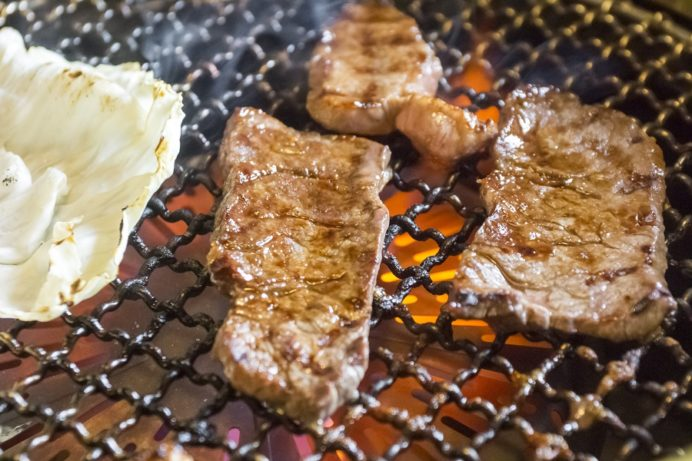 お肉工房 梅桜亭(島原市中安徳町丁)、焼肉店の焼肉ランチ