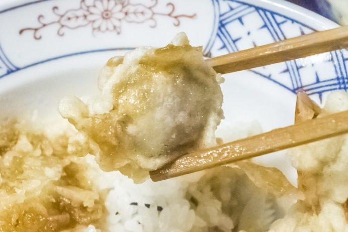 そば処戸隠(長崎県諫早市本町)の天丼