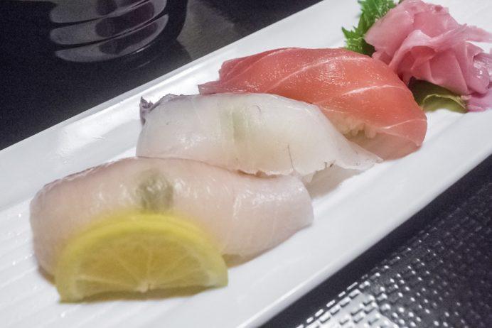 活いか料理専門 一魚一会(佐世保市針尾東町、西海橋そば)の活いか会席