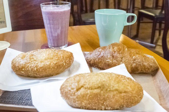 かせやカフェ(雲仙市小浜町雲仙地獄)、パン屋
