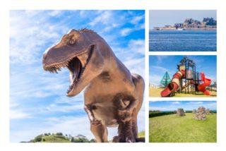 【9/13開業!入園0円?】のもざき恐竜パーク 〈こども広場〉