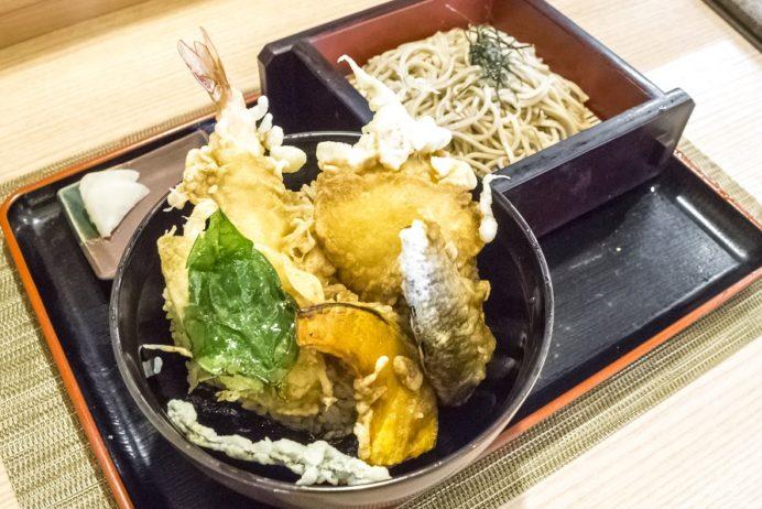 甚九郎(西海市西彼町大串郷)そば店、西海丼(さいかい丼)
